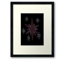 Ornate Twilight Sparkle Cutie Mark Framed Print