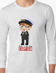 captain crieff crying Long Sleeve T-Shirt