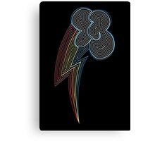 Ornate Rainbow Dash Cutie Mark Canvas Print