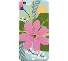 Blooming colorfull composition iPhone Case/Skin