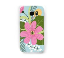 Blooming colorfull composition Samsung Galaxy Case/Skin