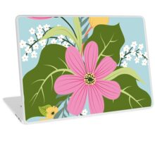 Blooming colorful composition Laptop Skin
