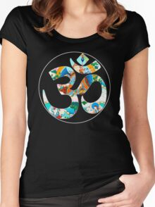 OM_GAIA_8 Women's Fitted Scoop T-Shirt