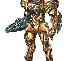Metroid: Samus M.O.R. Suit by Mecha-Zone