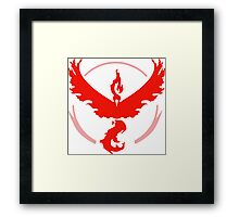 Team Valor Pokemon GO! Framed Print