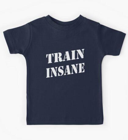 Train Insane Kids Tee