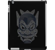 Ornate Blue Spirit Mask iPad Case/Skin