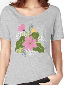 Blooming colorful composition Women's Relaxed Fit T-Shirt
