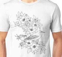 Morning Reviewing of Bloom.  Color Project.  Unisex T-Shirt