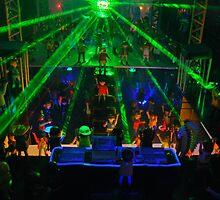 Laser light show by genxatplay