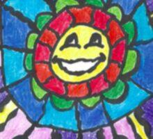 Hippie Sun Sticker