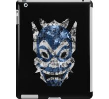 Blue Spirit Splatter iPad Case/Skin
