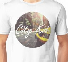Born and raised in the city Unisex T-Shirt