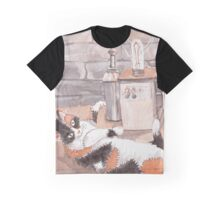 Frankenkitty in the Lab Graphic T-Shirt