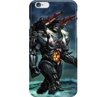Mecha Baron Karza Jeager iPhone Case/Skin