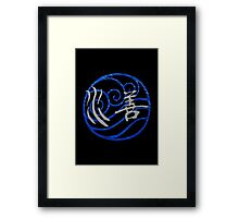 Waterbending Framed Print