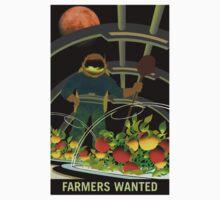 Nasa Mars Recruiting Poster - Farmers Wanted Baby Tee