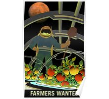 Nasa Mars Recruiting Poster - Farmers Wanted Poster