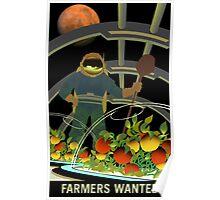 Nasa Mars Recruiting Poster - Farmers Wanted Poster
