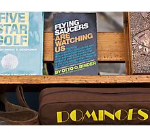 flea market books Photographic Print