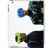 Stucky Flower Crown edit iPad Case/Skin