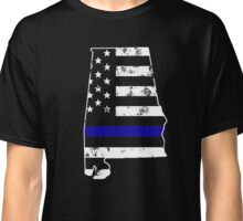 Alabama Thin Blue Line Police Classic T-Shirt