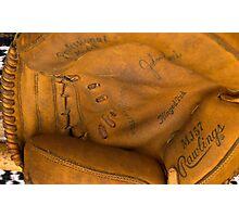flea market catcher's mitt Photographic Print