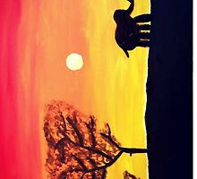 African Sunset by madisoncenter