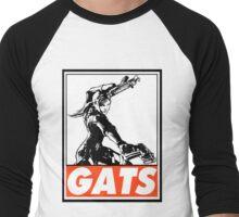 Jill Gats Obey Design Men's Baseball ¾ T-Shirt