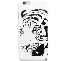 Amur Tiger Black-and-White iPhone Case/Skin
