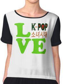 ♥♫Love SNSD-Girls' Generation Fabulous K-Pop Clothes & Phone/iPad/Laptop/MackBook Cases/Skins & Bags & Home Decor & Stationary & Mugs♪♥ Chiffon Top