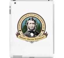 Henry David Thoreau Quote iPad Case/Skin