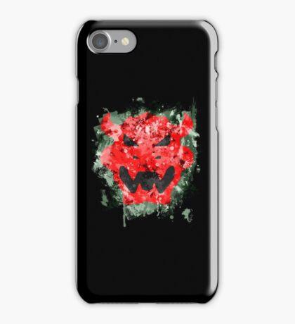 Bowser Emblem Splatter iPhone Case/Skin