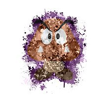 Goomba Splatter Photographic Print