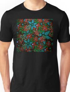 Retro Trendy Floral Pattern Unisex T-Shirt