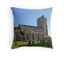 Lady St. Mary Church, Wareham Throw Pillow