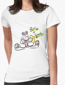Bef'n'Friends Womens Fitted T-Shirt