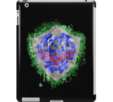 Hylian Shield Splatter iPad Case/Skin