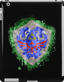 Hylian Shield Splatter by Colossal