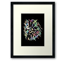 Royal Crest Framed Print