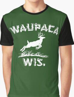 Waupaca Wisconsin Stranger Things Graphic T-Shirt