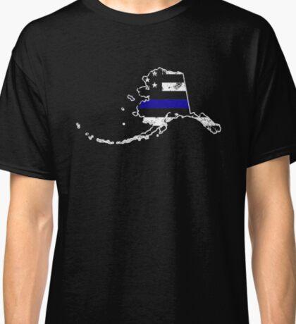 Alaska Thin Blue Line Police Classic T-Shirt