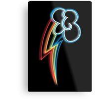 Rainbow Dash Cutie Mark Metal Print