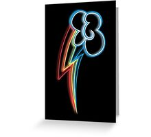 Rainbow Dash Cutie Mark Greeting Card