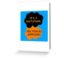 Orange Is The New Black - The Fault in Our Stars Crossover Greeting Card