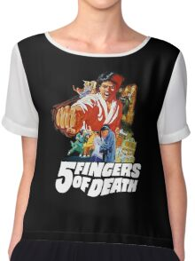 5 Fingers of Death Chiffon Top