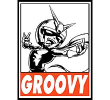 Viewtiful Joe Groovy Obey Design Photographic Print