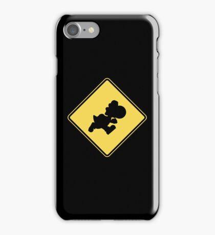 Yoshi Crossing iPhone Case/Skin