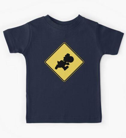 Yoshi Crossing Kids Tee