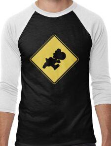 Yoshi Crossing Men's Baseball ¾ T-Shirt